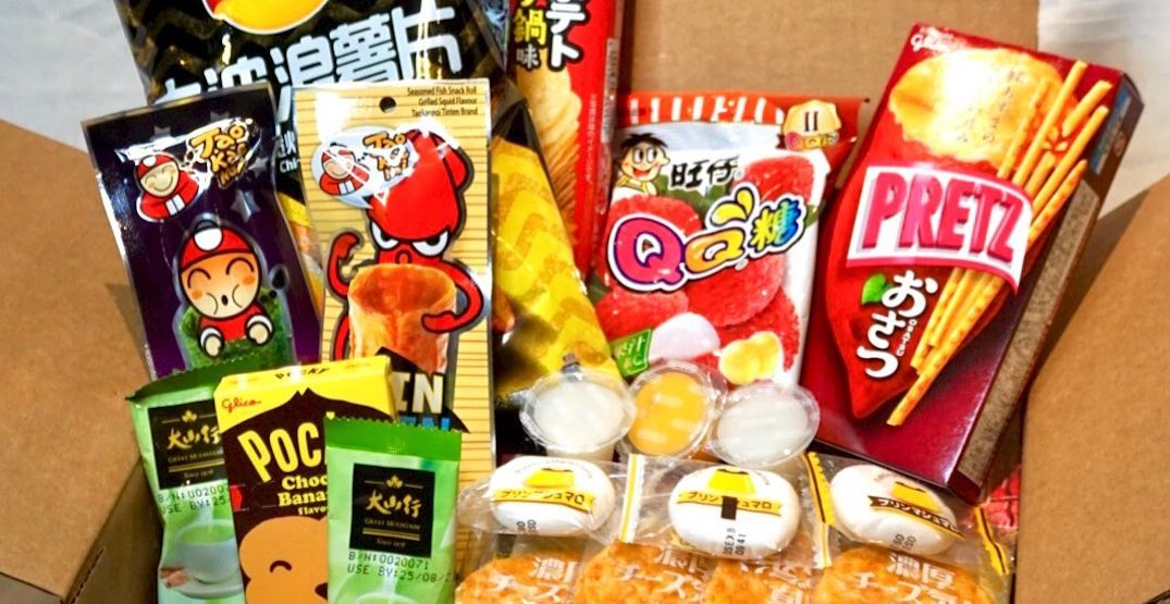 This new Toronto-based snack subscription box offers East Asian goodies