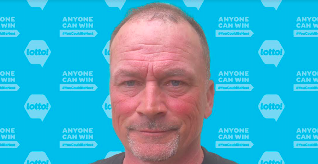 BC man who dreams about vacations while lawn mowing wins $1 million lotto