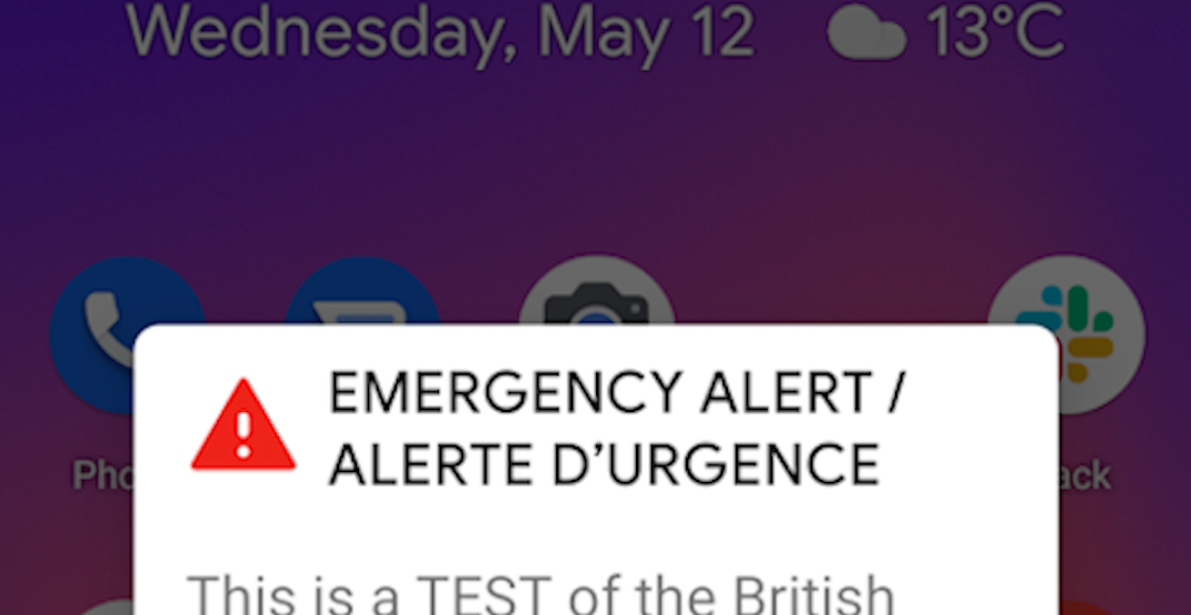 """BC Emergency Alert Test re-broadcast due to """"human error"""""""
