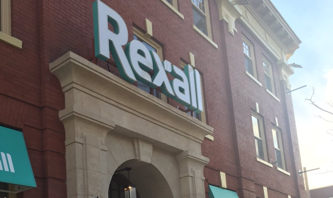 Rexall is shutting its famed Brunswick House location