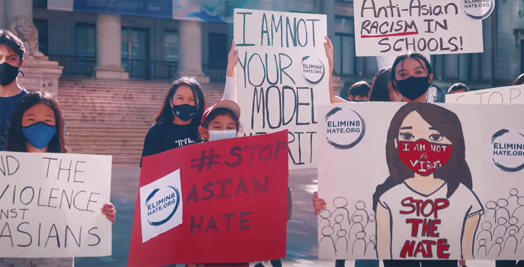 Asian Canadian personalities star in moving anti-Asian racism video