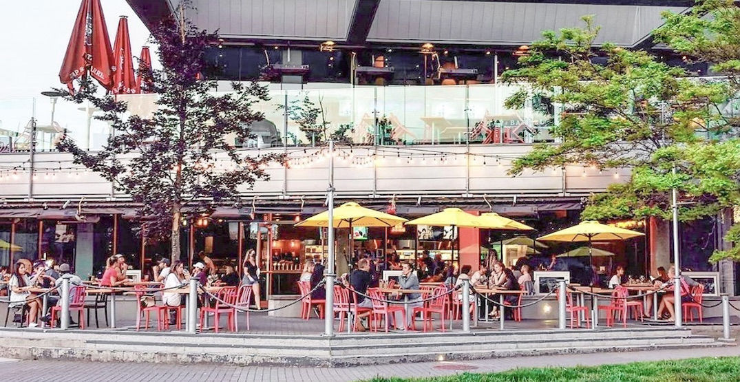 Best patios in Olympic Village to check out this season