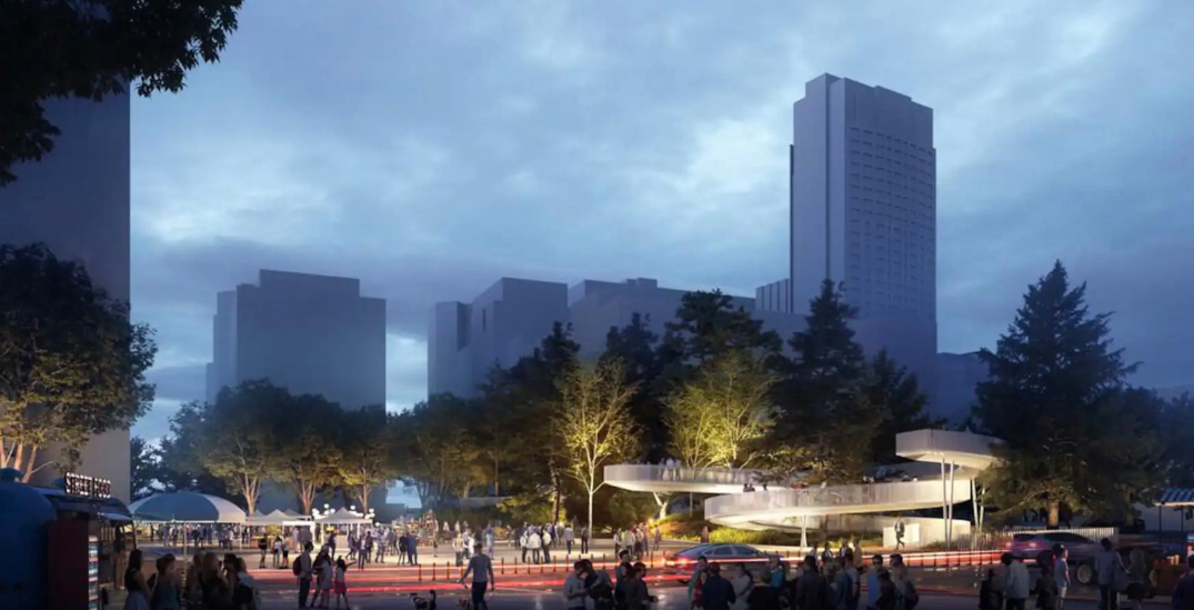 A new urban forest park is coming to the Quartier des Spectacles