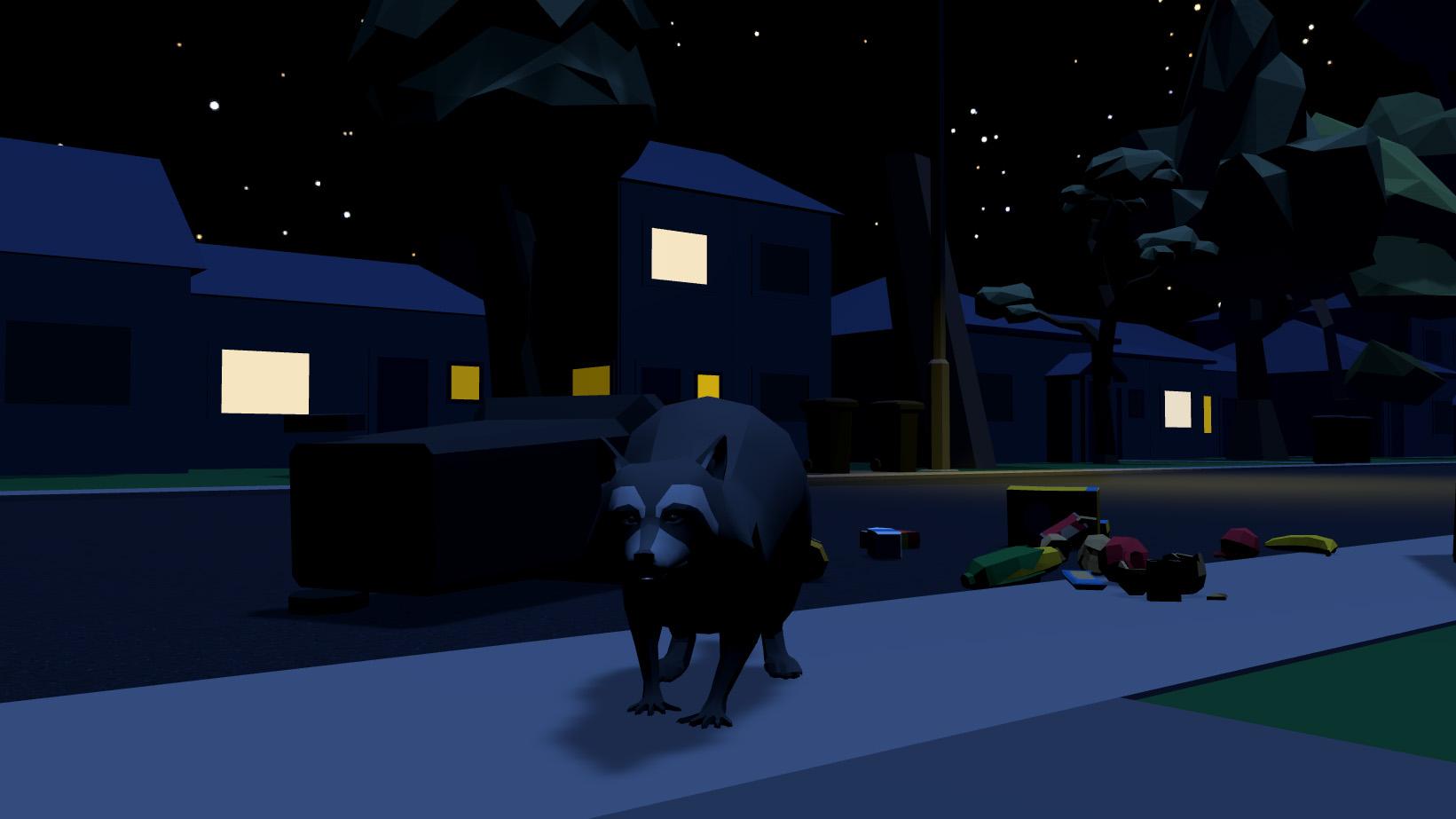 toronto racoon video game