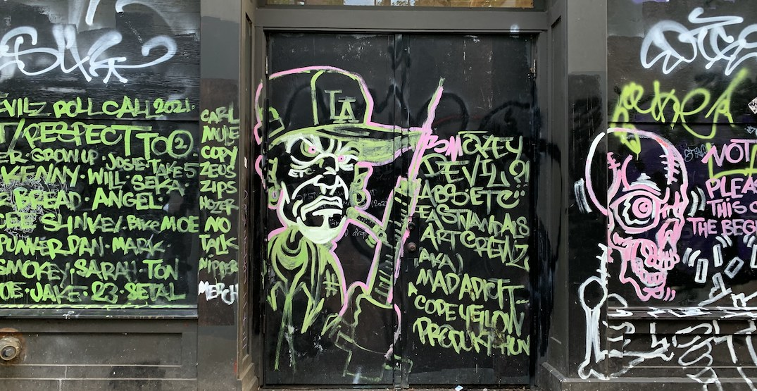 Vancouver City Council to consider new policies to discourage graffiti