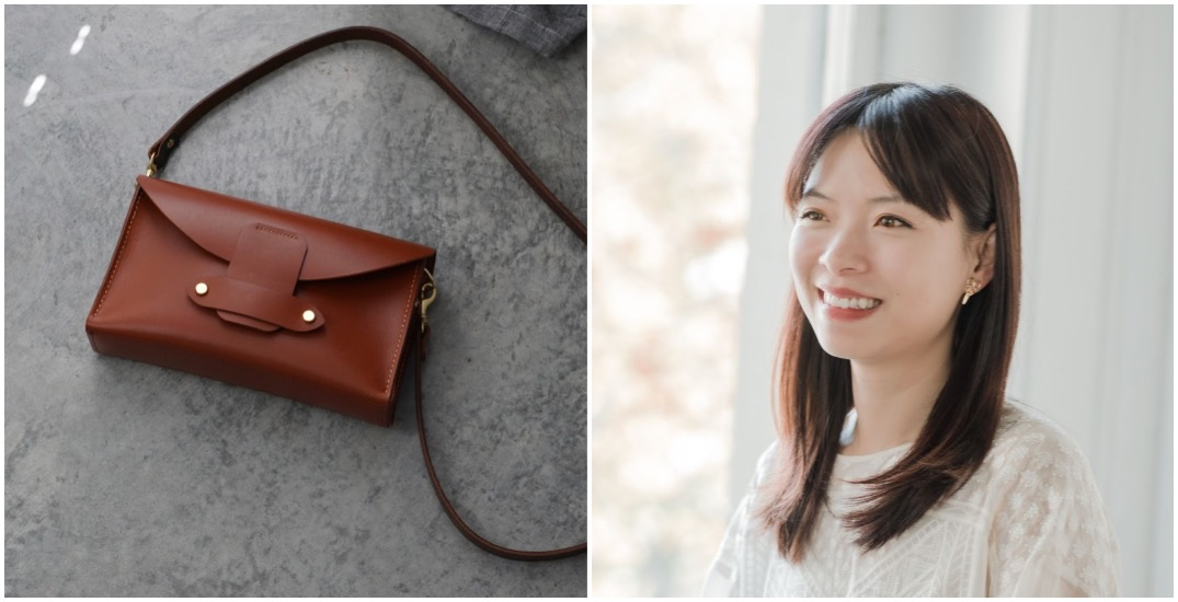 How new Vancouver mom launched handcrafted leather goods brand from home