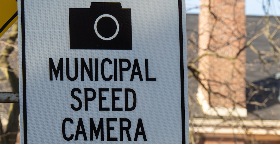 The new locations of Toronto's 50 automated speed cameras
