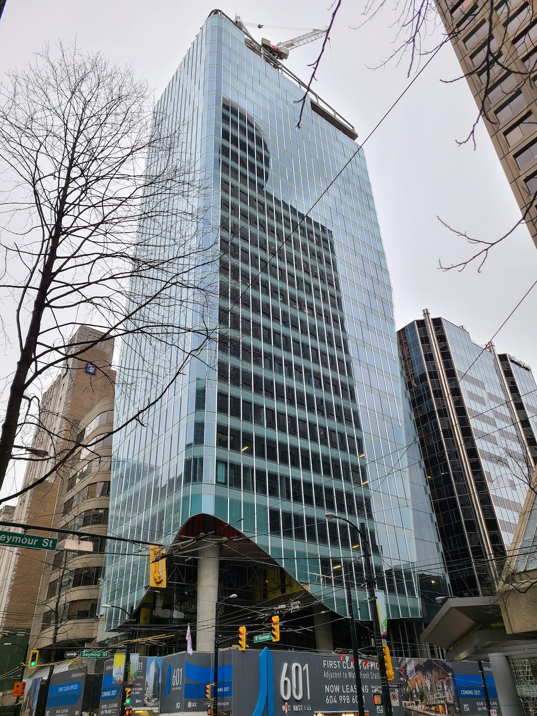 601 west hastings vancouver office tower february 20 2021