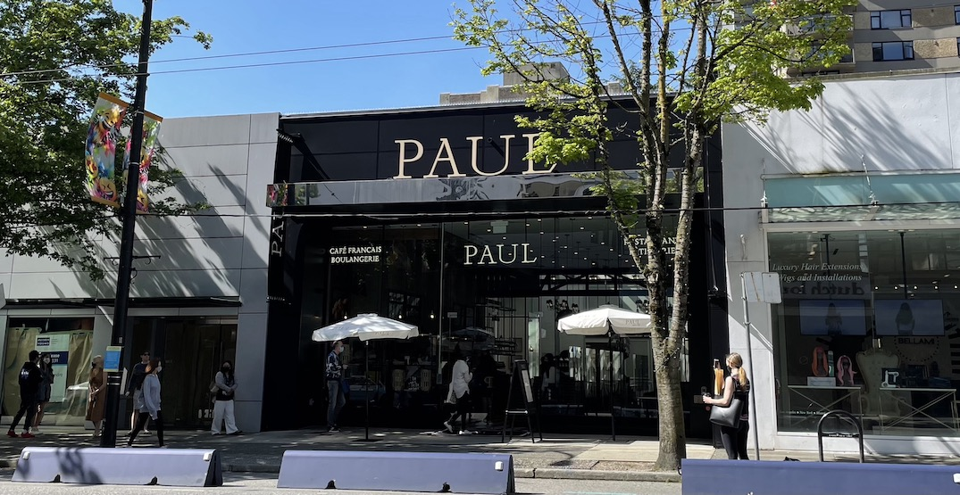 PAUL Vancouver: Famous French bakery now open on Robson Street