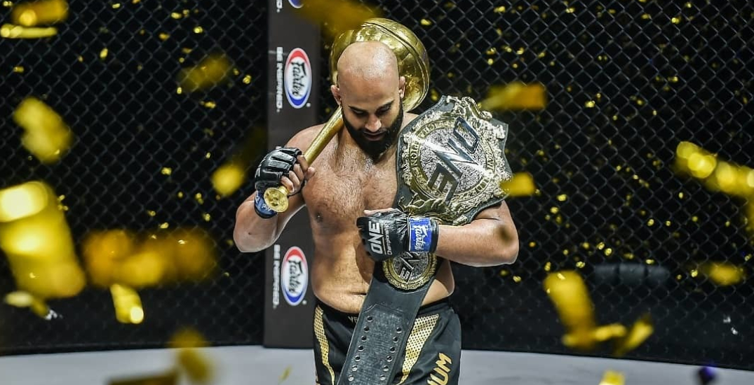 Canadian becomes first-ever Sikh MMA world champion