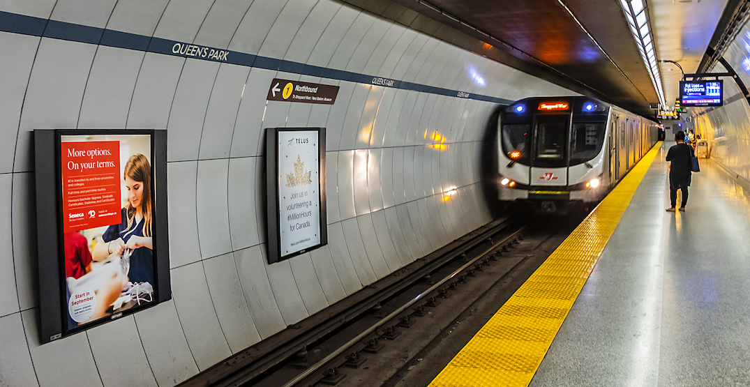 Four major TTC subway stations are closing for the next 10 days