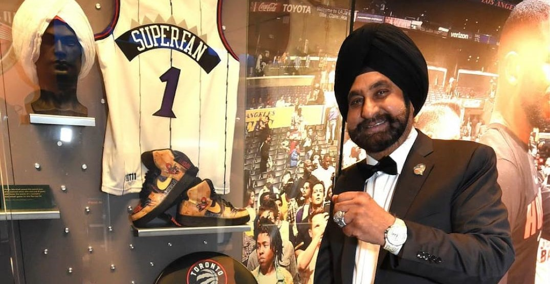"""Raptors Superfan Nav Bhatia """"overcome with emotions"""" after Hall of Fame induction"""