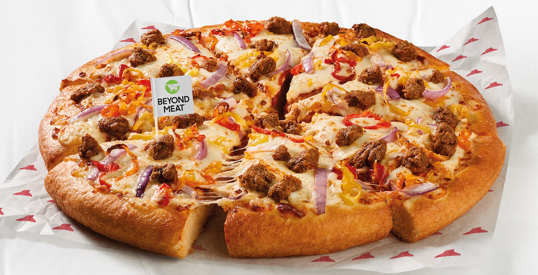 Pizza Hut is adding Beyond Meat to its menu in Toronto and Edmonton