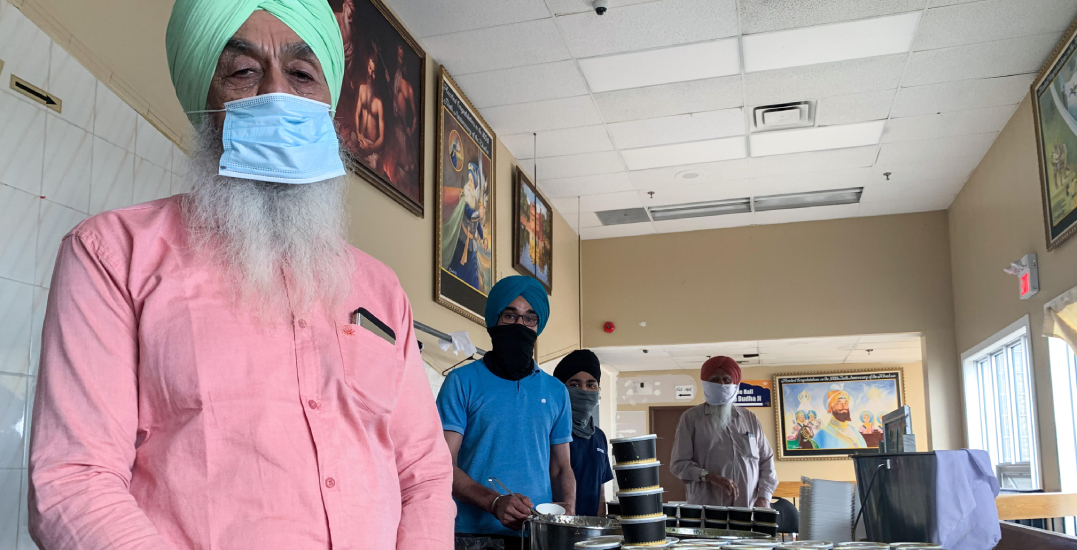 How the Canadian Sikh community is rallying to feed thousands each day
