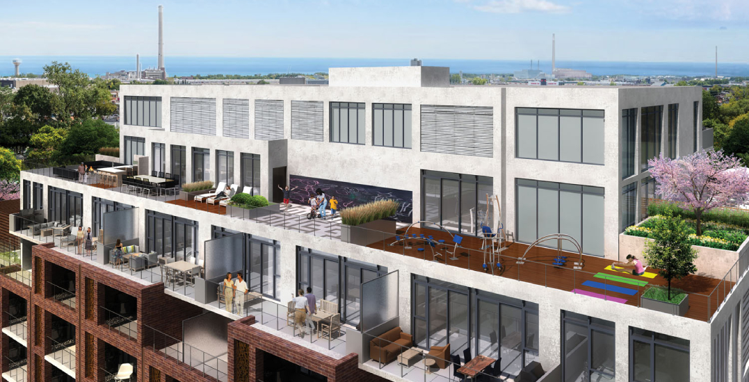 Boutique building with homes from the $800Ks available in Leslieville