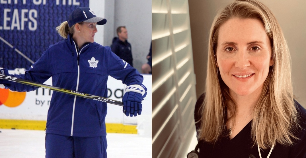 Leafs promote Wickhenheiser days after she became a doctor
