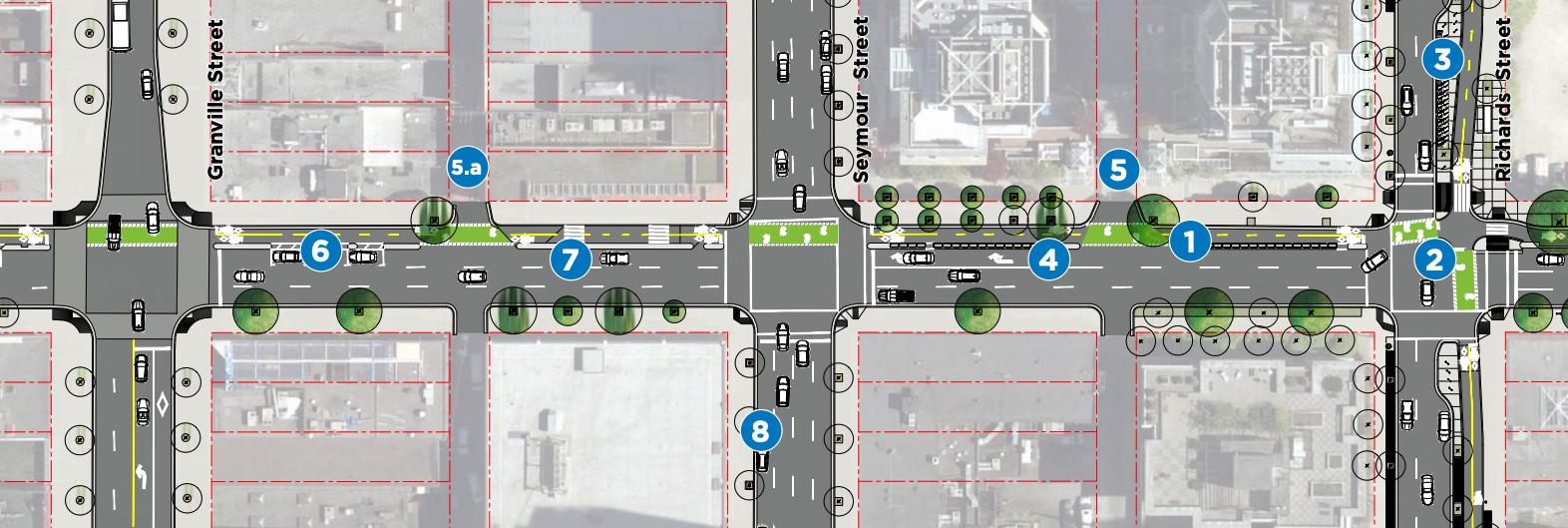 smithe street bike lane