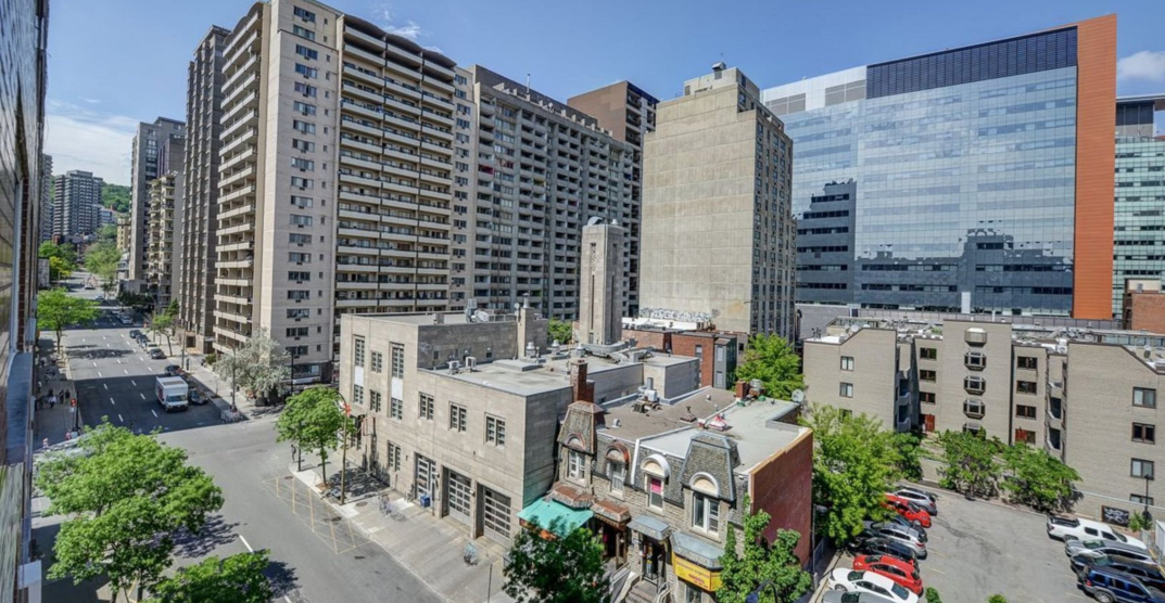 Montreal apartments for rent with balconies for less than $1,000 a month