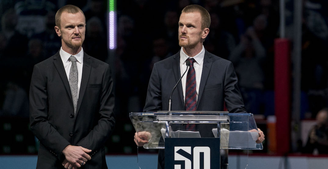 Canucks ownership in talks with Sedins about roles in organization: report