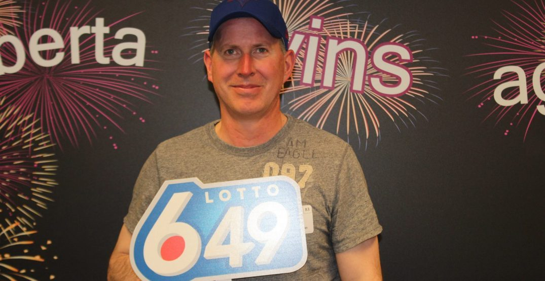 Lucky Edmonton lottery winner had ticket checking routine