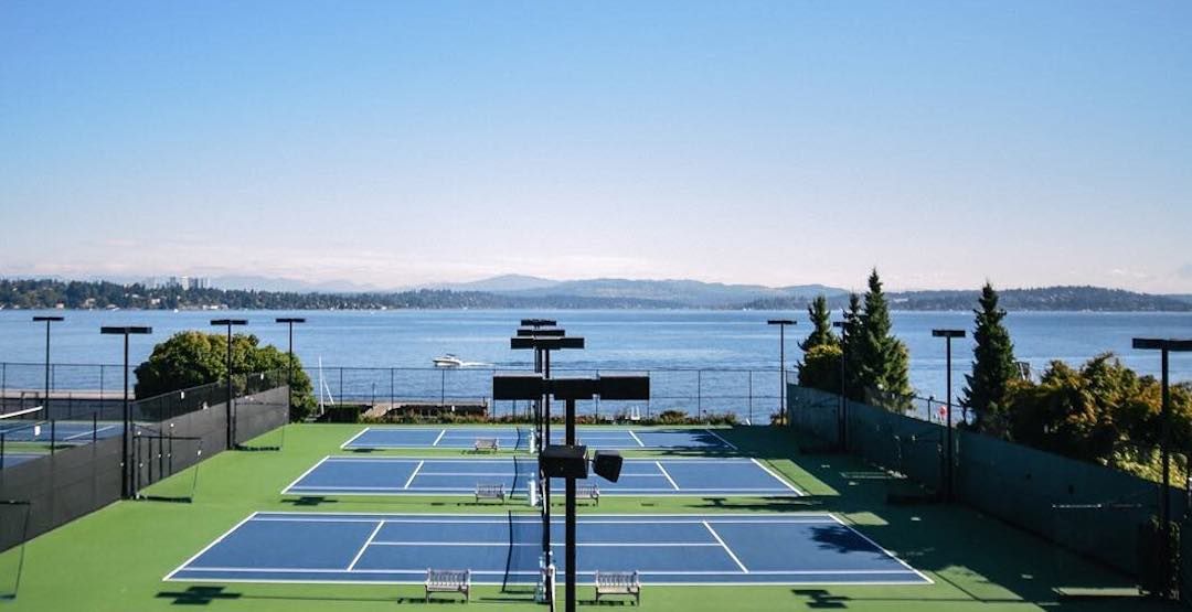 7 courts that'll have you playing a stellar match of tennis in Seattle