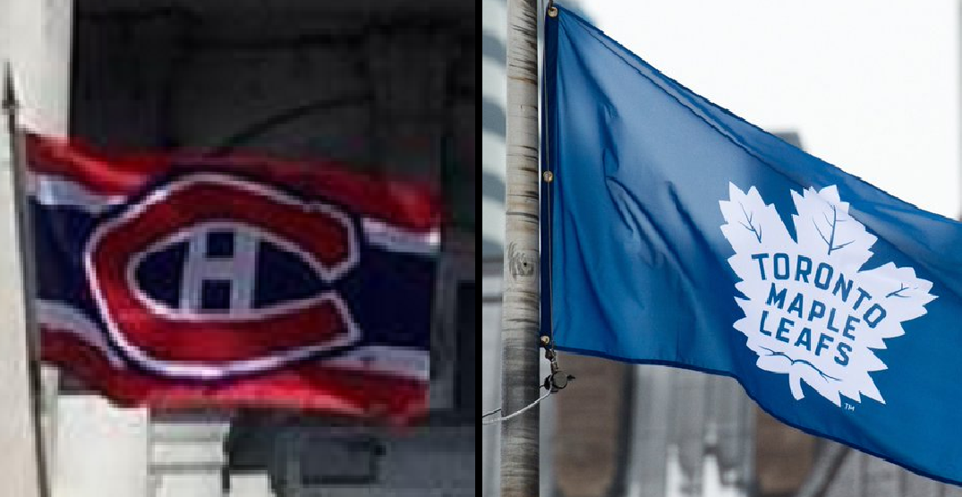 Loser of Leafs-Canadiens series to fly rival flag at city hall