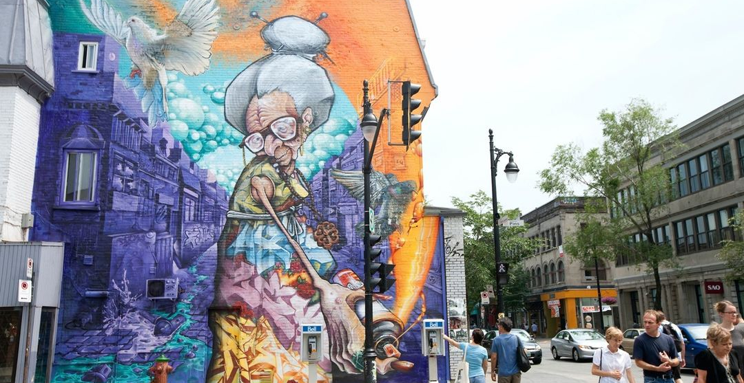 The ninth edition of MURAL fest is returning to Montreal this summer