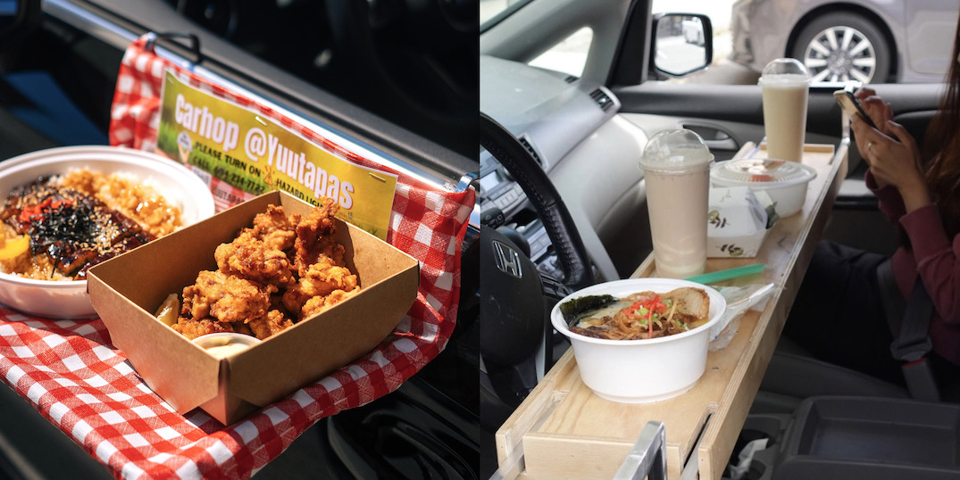 """Yuu Japanese Tapas launches new """"car hop"""" dine-in service"""
