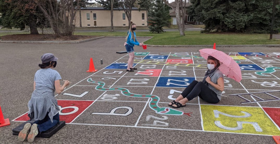 """Here's where you can play life-sized """"Snakes and Ladders"""" in Edmonton"""