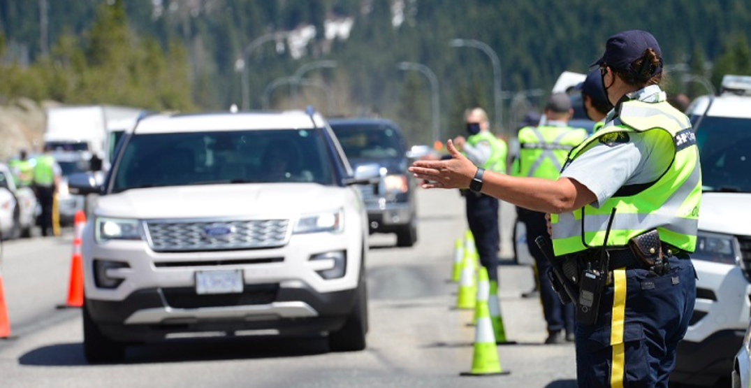 Police increasing COVID-19 travel checks in BC over May long weekend