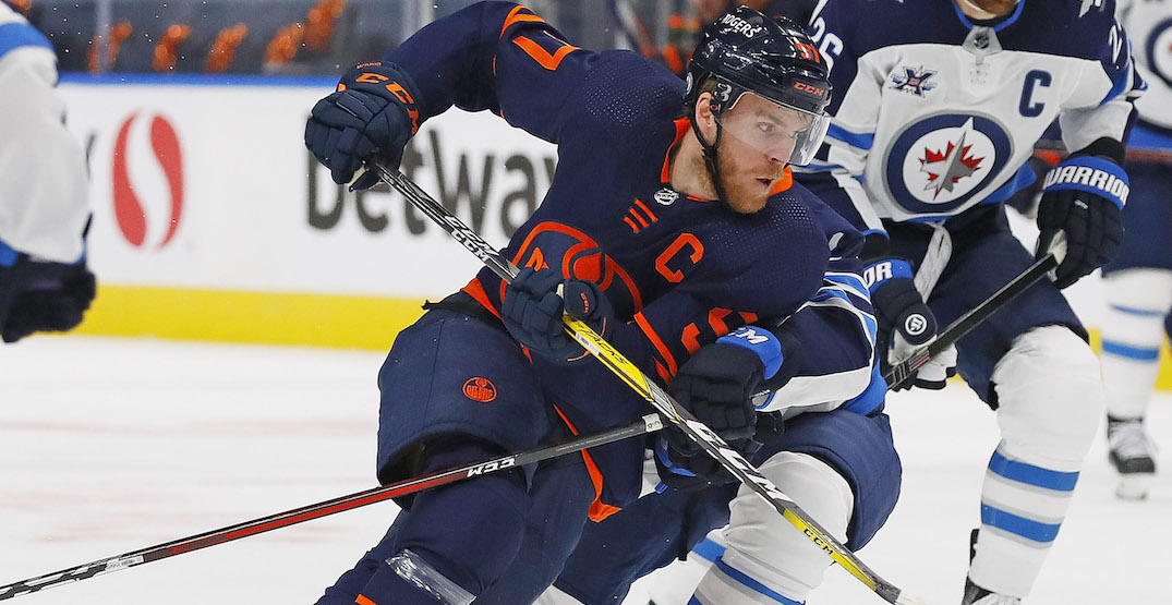 Jets stop Connor McDavid, upset Oilers in playoff opener