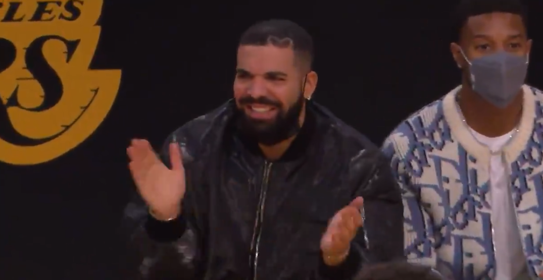 With Raptors' season done, Drake joins Lakers' bandwagon (VIDEO)
