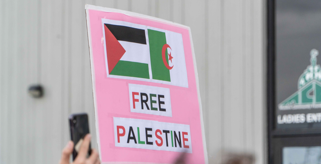 Over 100 tickets to be issued for downtown car rally in support of Palestine