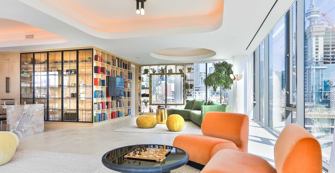 This stunning $5M Toronto condo looks like it was built for a celebrity