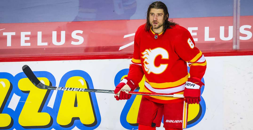 Flames GM reveals Tanev played through broken ribs, torn pec muscle