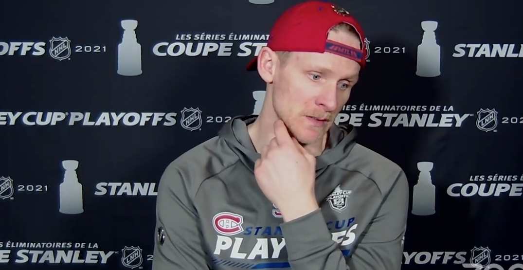"""""""Sick to my stomach"""": Perry reflects on Tavares injury in Leafs-Habs game"""