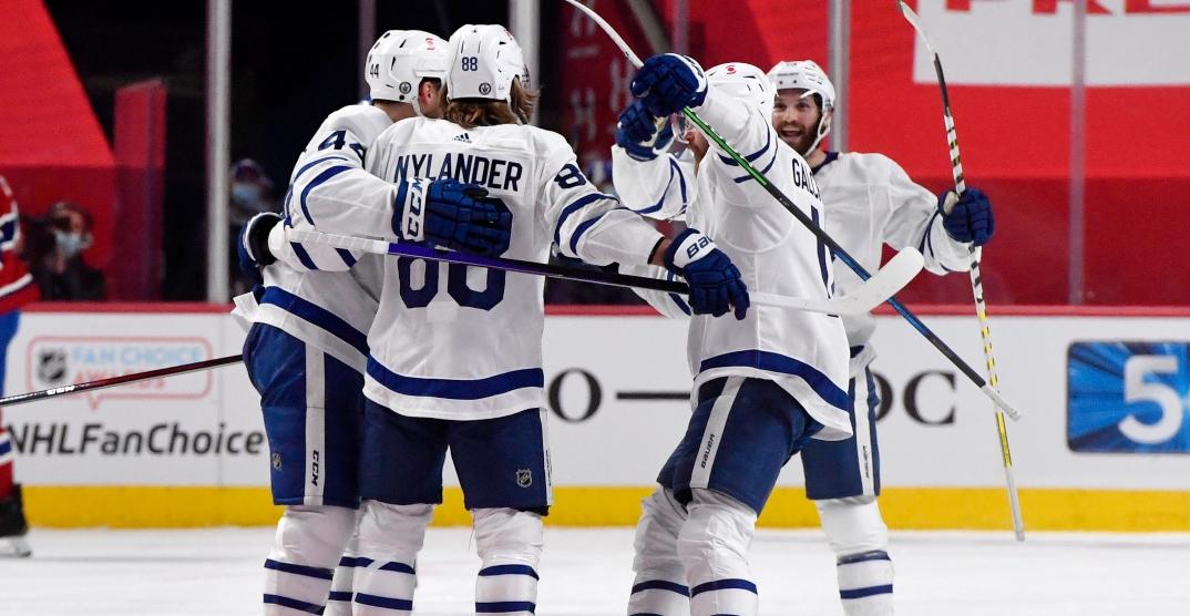 Nylander scores again as Leafs take series lead over Canadiens