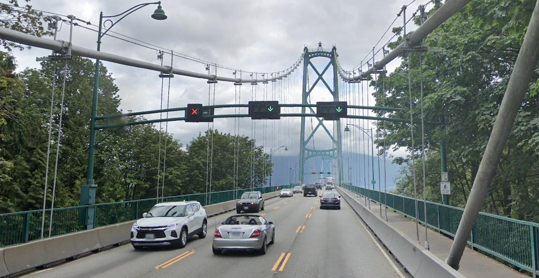 Lions Gate Bridge counterflow system to undergo upgrade