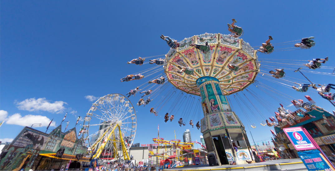 Here's how much of the Stampede midway attractions Calgary could see this July