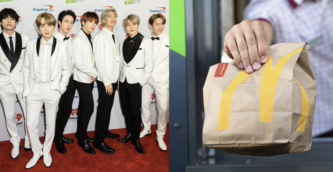 BTS fans react to getting McDonald's collab meals in regular packaging