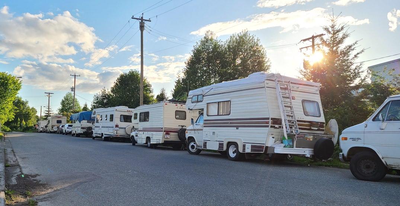 City of Vancouver begins enforcement against RV encampments on streets