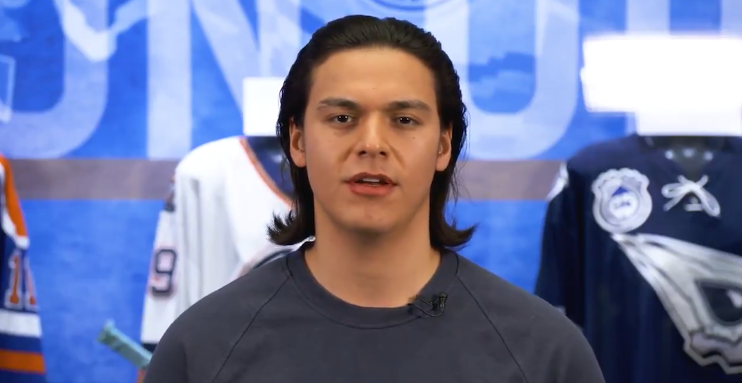 Oilers' Ethan Bear responds to racist comments made about him (VIDEO)