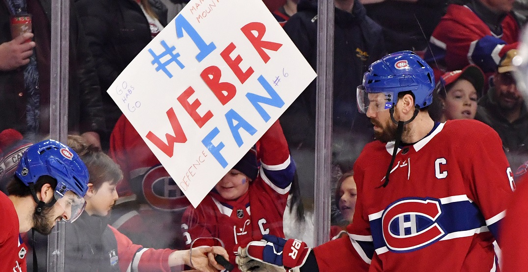 """Shea Weber's career """"probably"""" over says Canadiens GM Bergevin"""