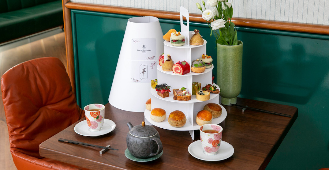 Here's where you can order an exclusive Afternoon Tea menu in Toronto