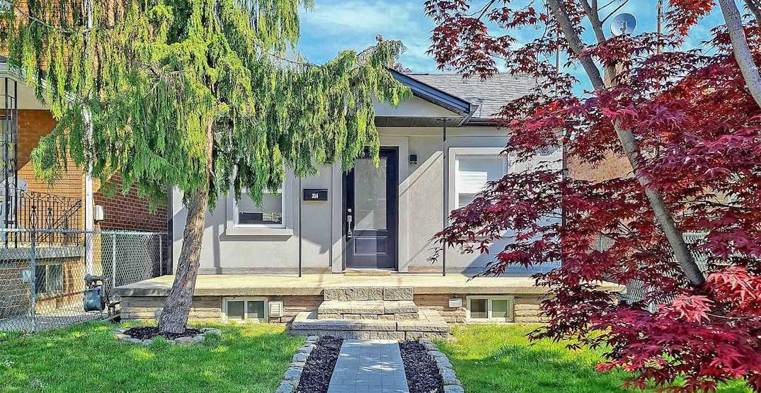 This Toronto bungalow with no bedrooms just sold for over $1 million (PHOTOS)