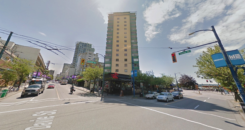 the berkeley 1770 Davie Street Vancouver