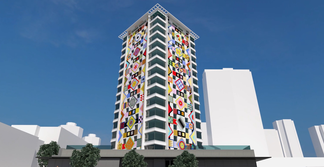 Murals by Douglas Coupland to be painted on downtown Vancouver tower