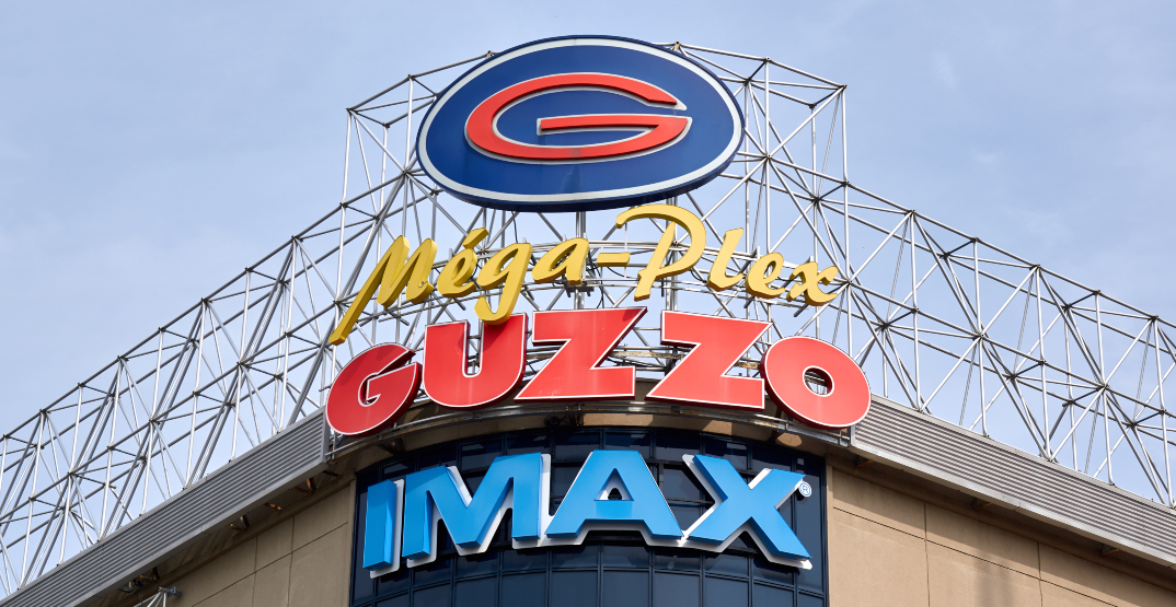 Guzzo theatres have reopened across all of Quebec today