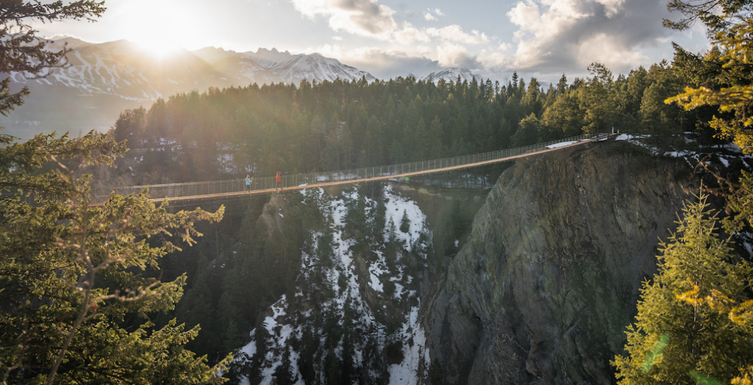Canada's highest suspension bridges are opening in BC next week