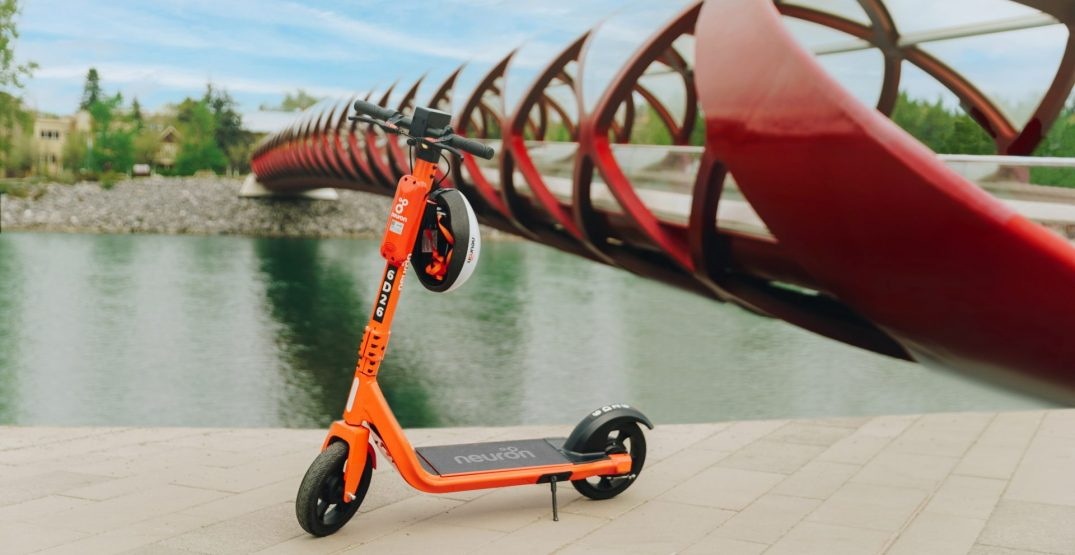 Shared e-scooters have officially returned to Calgary streets